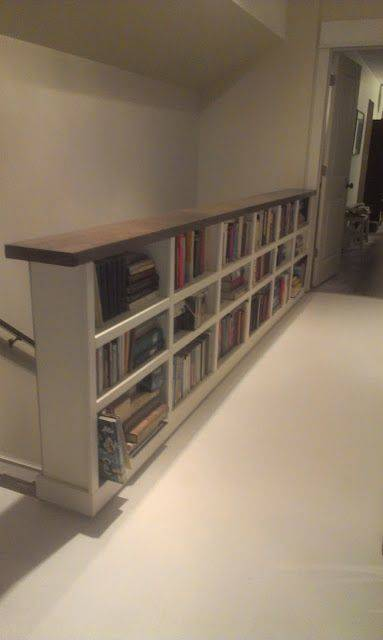 Along the Staircase - Great Bookshelf Designs