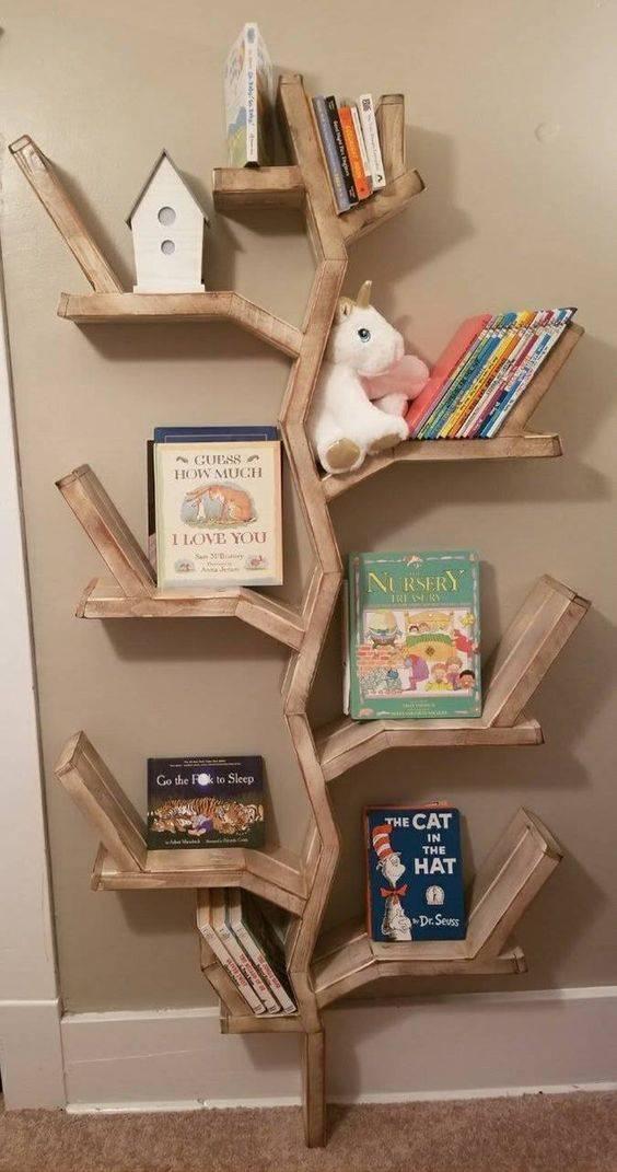 A Terrific Tree - Bookshelf Designs for Kids