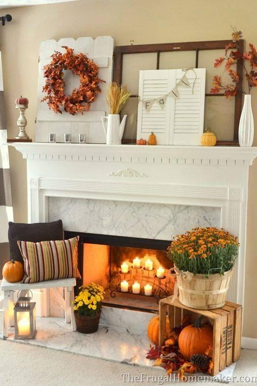 A Selection of Everything - Fall Living Room Decor Ideas