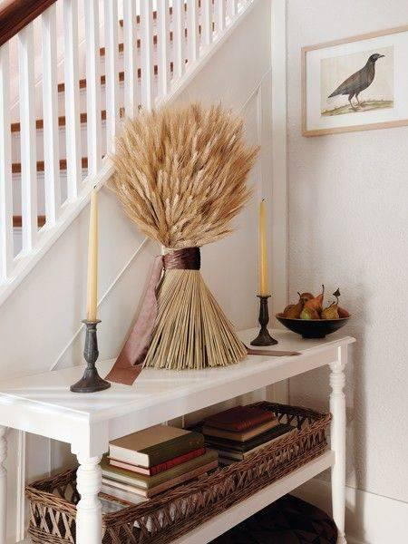 Wonderful Wheat - Autumn Living Room Decor
