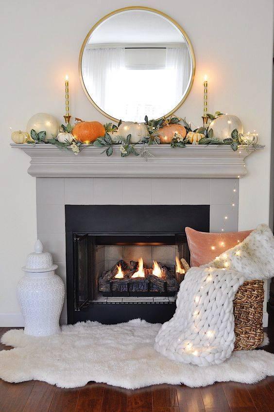 Illuminating Your Design - Autumn Living Room Decor