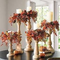 Decorating Your Candlesticks - Autumn Living Room Decor