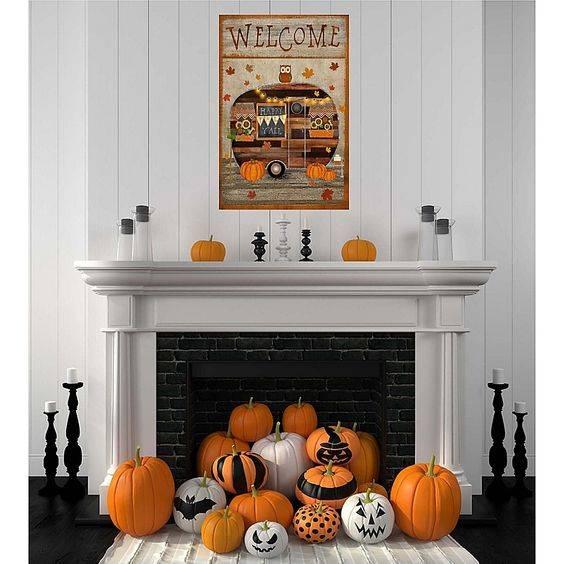 A Happy Halloween - Abundance of Pumpkins