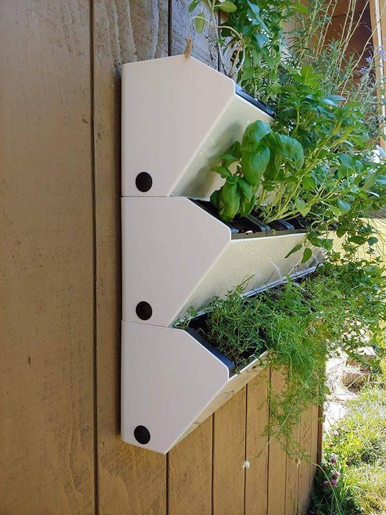 Self Watering Vertical Planter - Indoor Herb Gardens