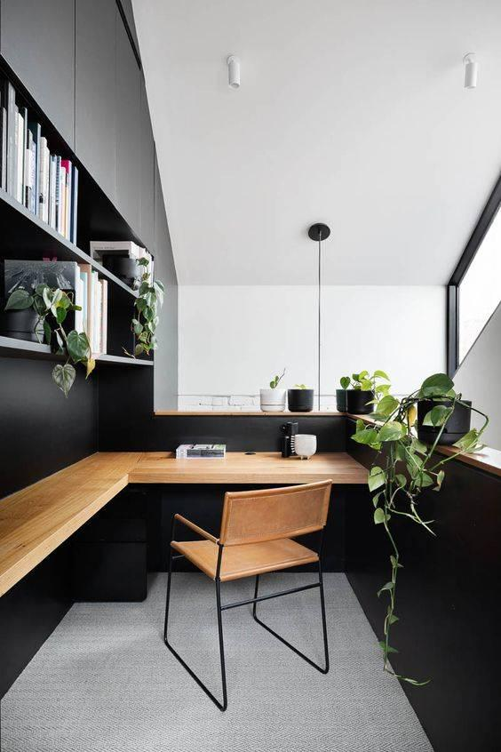Elegant and Simplistic - Modern Home Office Design