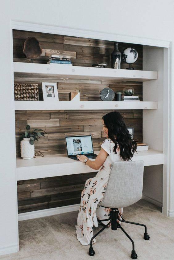 A Minimalist Essence - Home Office Interior Design Ideas