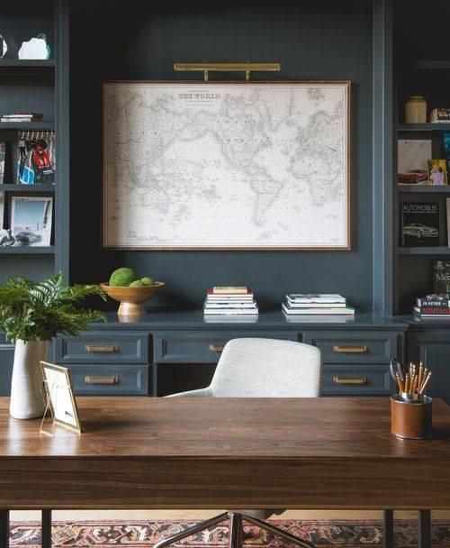 A Smart Look - Modern Home Office Design