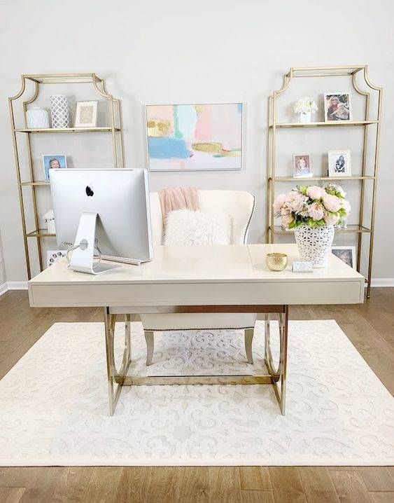 Keeping It Simple - Home Office Interior Design Ideas