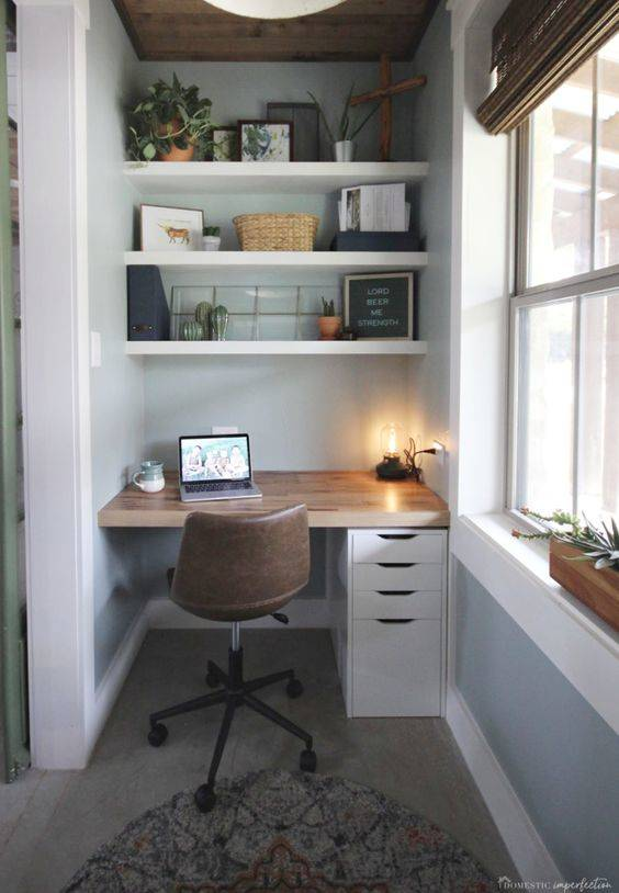 For a Small Space - How to Fit Everything In