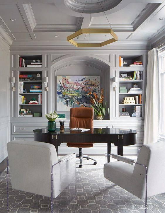 A Stylish Centrepiece - Modern Home Office Design