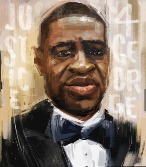 a portrait of a man