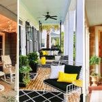 20 SMALL FRONT PORCH IDEAS ON A BUDGET - Small Front Porch Decorating Ideas