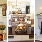 25 FALL LIVING ROOM DECOR IDEAS - Autumn Living Room Decor