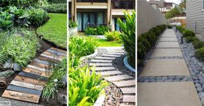 20 EASY GARDEN PATH IDEAS - A Collection of Garden Walkways
