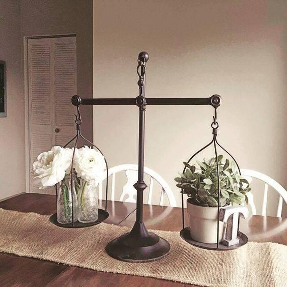 Balancing It Out - Dining Room Table Decor Ideas