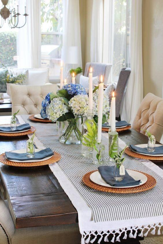 Spruce Up the Candle Holders - Dining Table Centrepieces