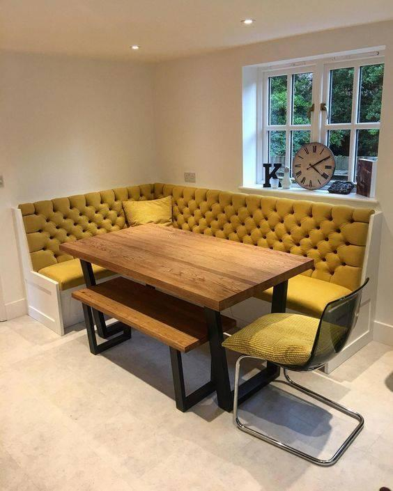Saving Some Space - With a Banquette Seating