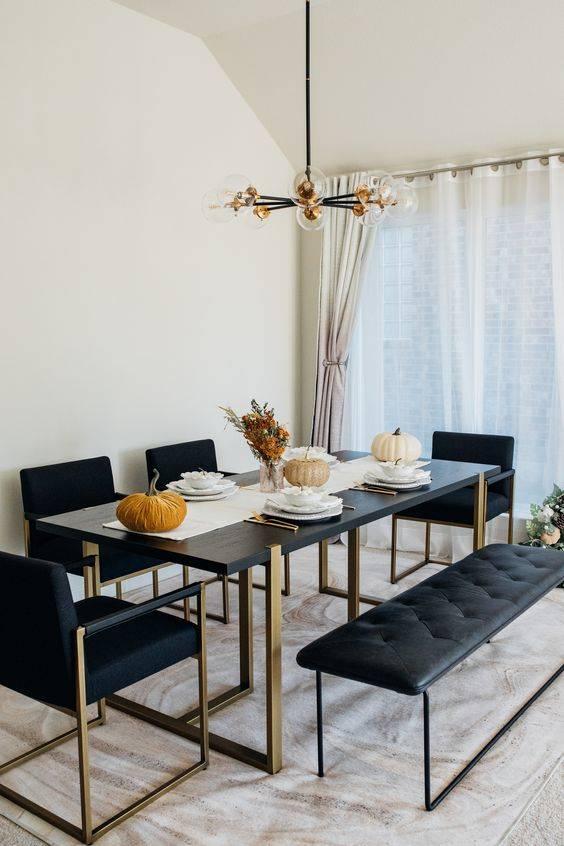 Beautiful in Black - Dining Room Design Ideas