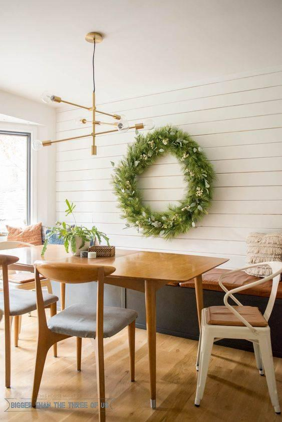 Festive with a Wreath - Great for a Special Occasion