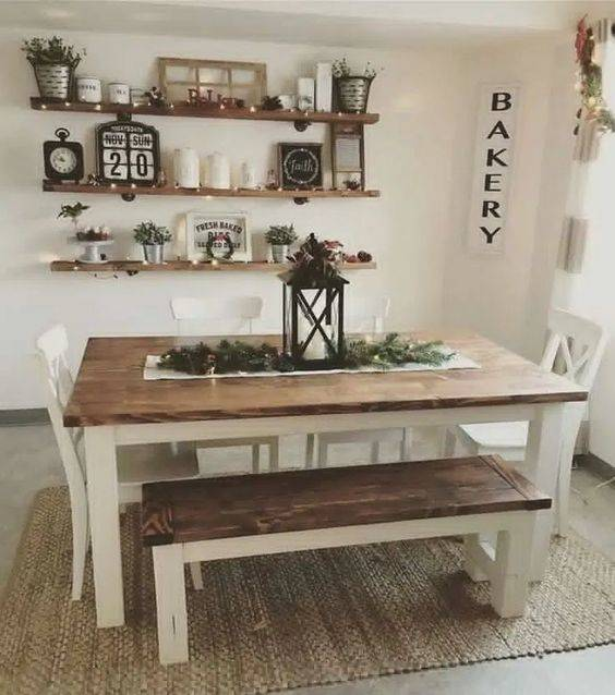 A Pick of Ornaments - Dining Room Wall Ideas