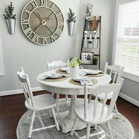 Add a Clock - Dining Room Wall Decor Ideas