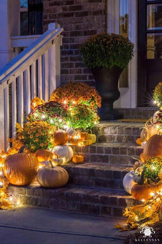 Illuminate Your Porch - A Warm Glow