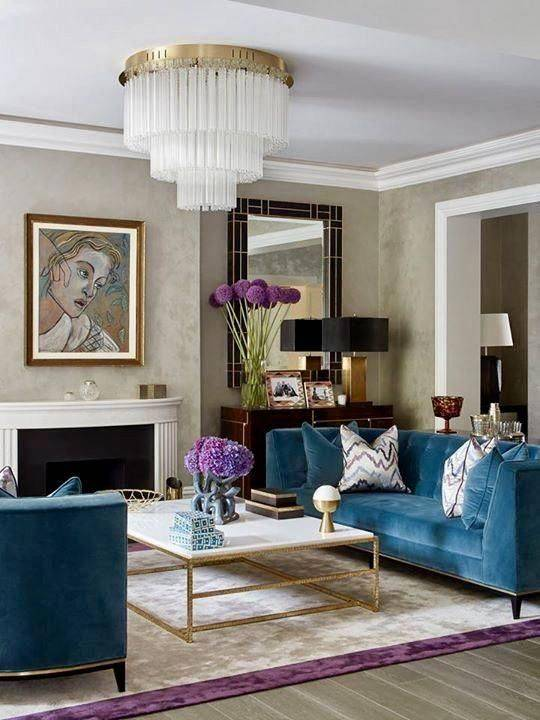 A Multi-Tiered Chandelier - Brilliant and Refined
