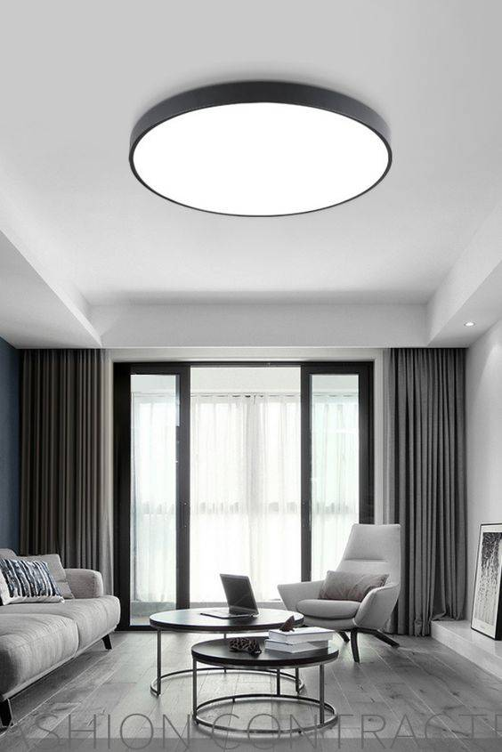 Simplistic and Modern - Living Room Lighting Designs
