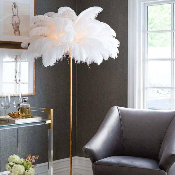 Fancy in Feathers - Modern Living Room Lighting Designs