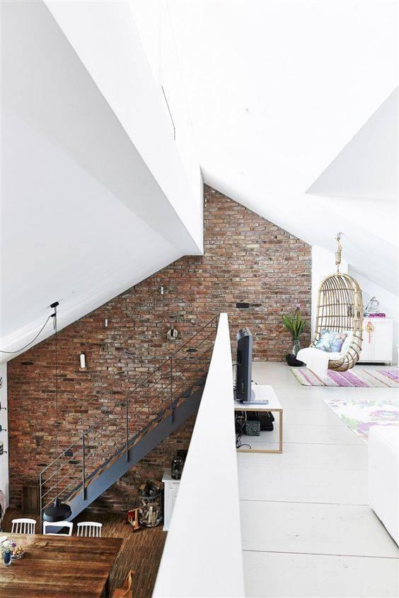 Brighten the Space - Loft Design Ideas