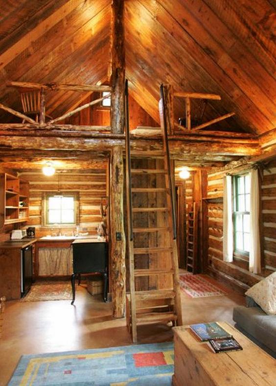 A Cabin Retreat - Loft Design Ideas