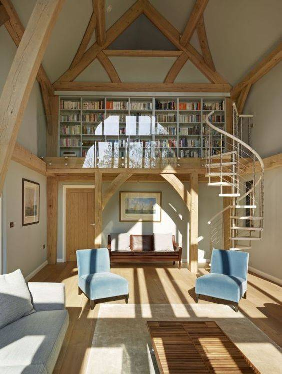 A Private Library - A Perfect Spot for Reading