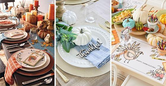 20 THANKSGIVING TABLE DECOR IDEAS - Thanksgiving Centrepiece Ideas