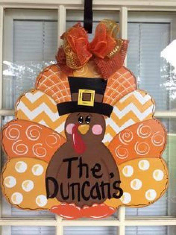 A Turkey Hanger - Adorable and Awesome
