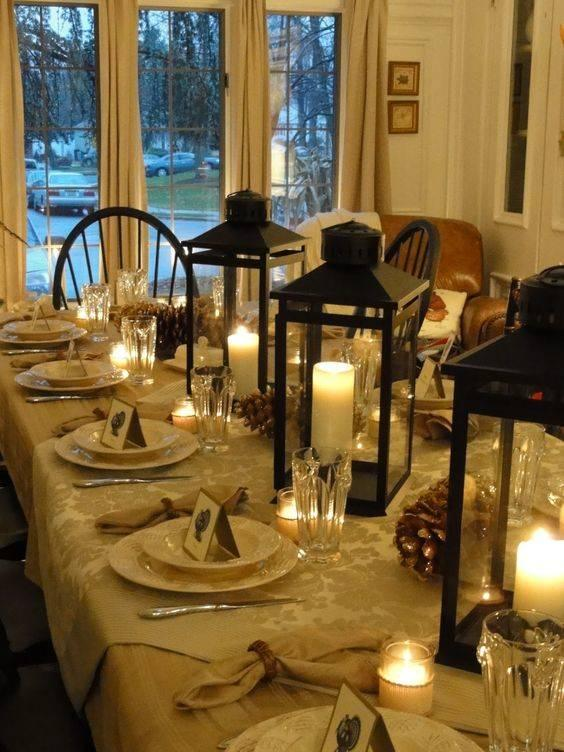 Light Up the Table - Thanksgiving Centrepiece Ideas