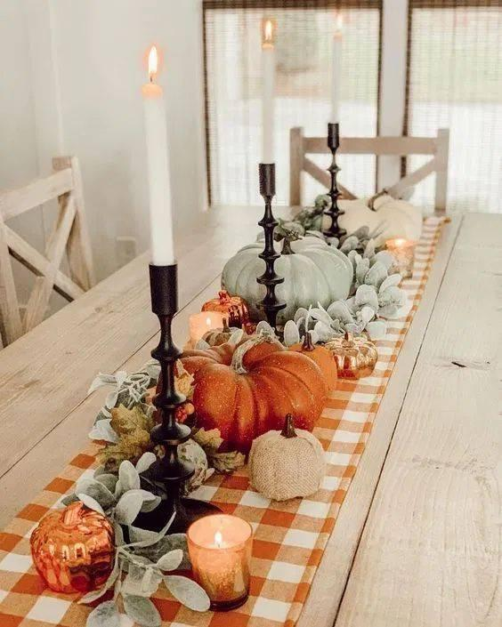 Complete with Candles - An Autumn Vibe