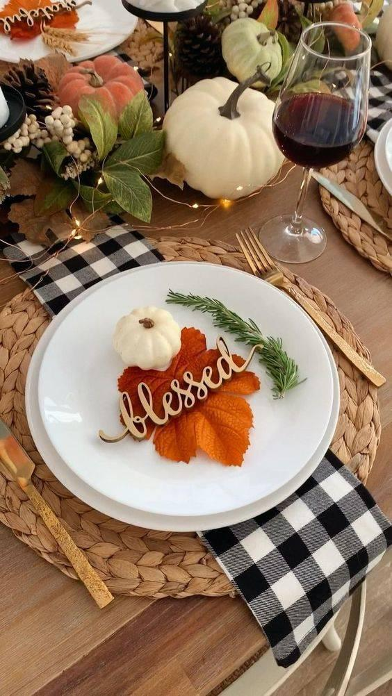 Thinking About Lighting - Thanksgiving Table Decor Ideas