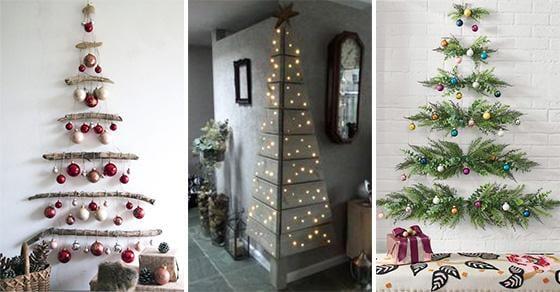 20 WALL HANGING CHRISTMAS TREE - Wall Christmas Tree Ideas