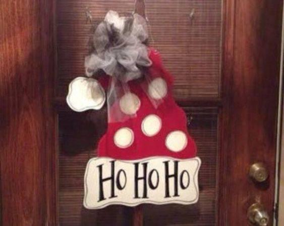 A Classic Claus Laugh - Santa Claus Door Decorations