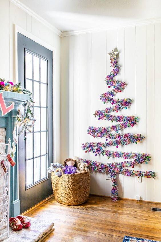 Vibrant Tinsel - A Merry and Joyous Atmosphere