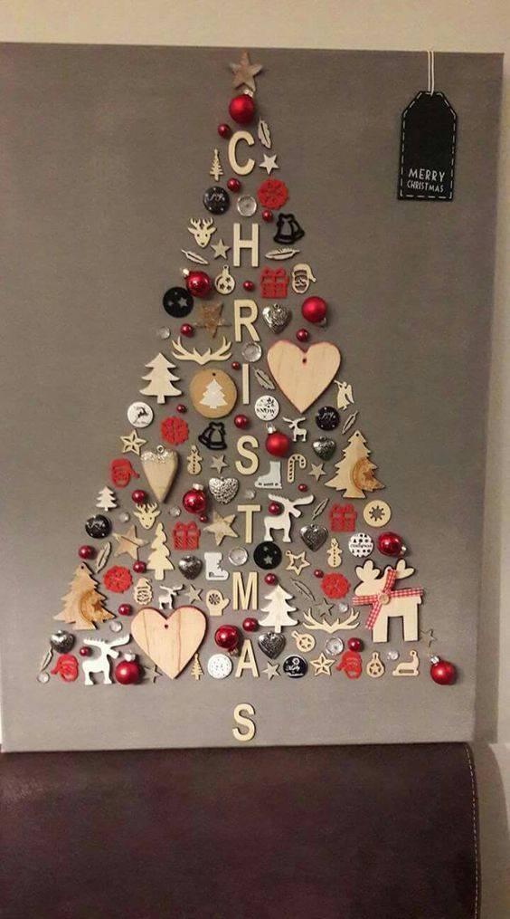Creative and Cool - Wall Hanging Christmas Tree