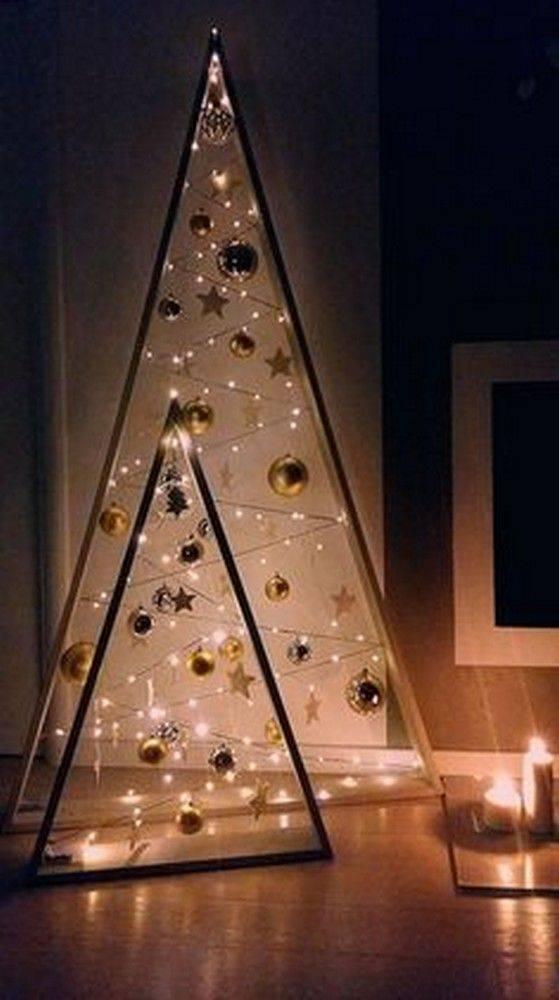 Creating Triangular Frames - Wall Hanging Christmas Tree