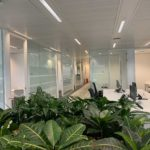 A Modern London Office Interior Design – Glass Office Partitions